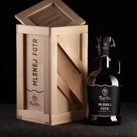 Exkluzivní dárek pivo v dřevěném boxu